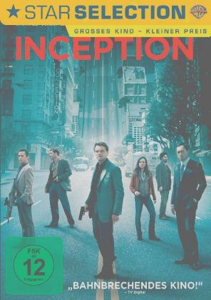 Inception, 1 DVD | Dodax.co.uk