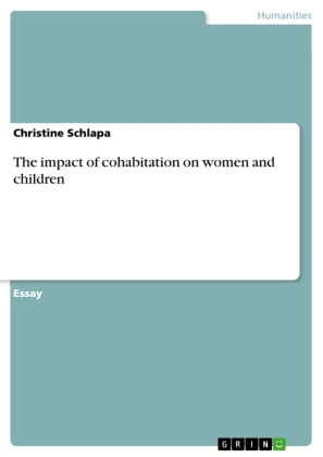 The impact of cohabitation on women and children | Dodax.pl