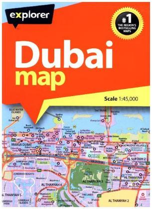 Dubai Map | Dodax.at