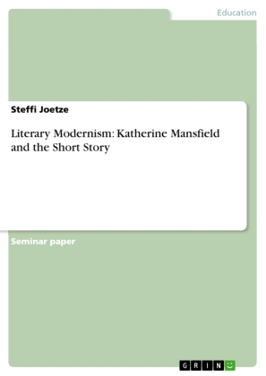 Literary Modernism: Katherine Mansfield and the Short Story | Dodax.pl