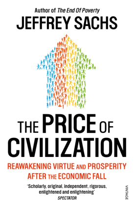 The Price of Civilization | Dodax.at