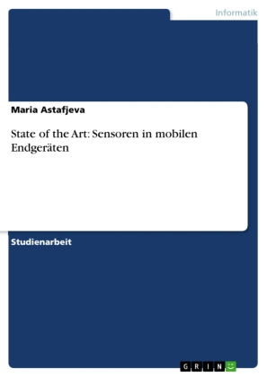 State of the Art: Sensoren in mobilen Endgeräten | Dodax.co.uk