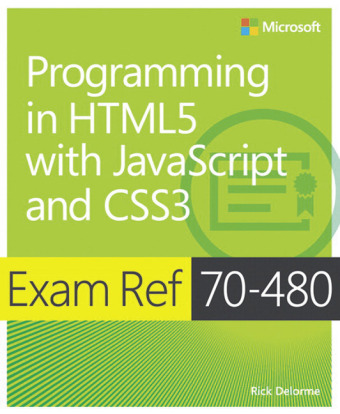 Programming in HTML5 with JavaScript and CSS3: Exam Ref 70-480 | Dodax.at
