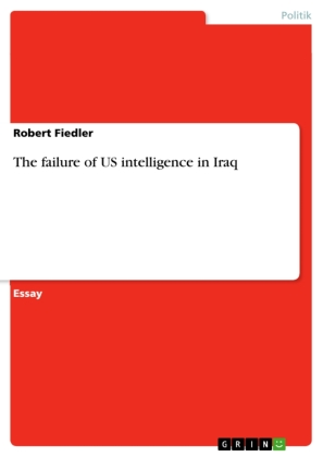 The failure of US intelligence in Iraq | Dodax.co.uk