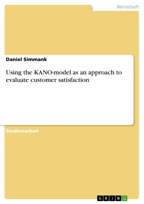 Using the KANO-model as an approach to evaluate customer satisfaction | Dodax.pl