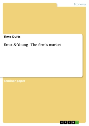 Ernst & Young - The firm's market | Dodax.pl