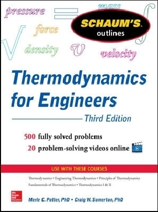 Schaum's Outline of Thermodynamics for Engineers | Dodax.ch