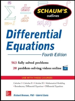Schaum's Outline of Differential Equations, 4th Edition | Dodax.ch