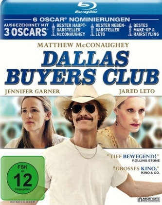Dallas Buyers Club, 1 Blu-ray | Dodax.fr