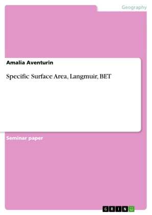 Specific Surface Area, Langmuir, BET | Dodax.co.uk