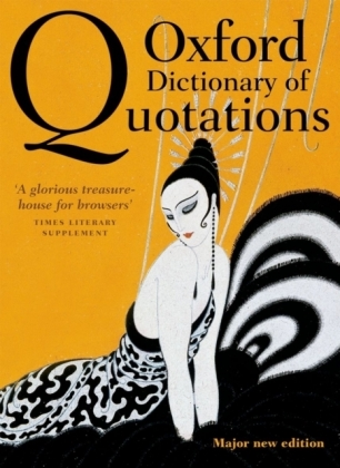 Oxford Dictionary of Quotations | Dodax.pl