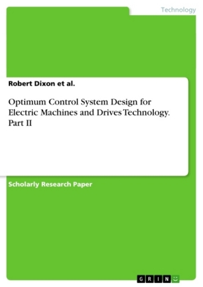 Optimum Control System Design for Electric Machines and Drives Technology. Part II | Dodax.com