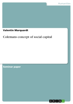 Colemans concept of social capital | Dodax.pl