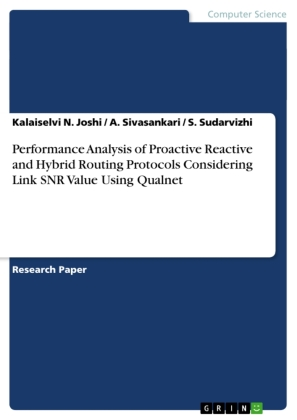 Performance Analysis of Proactive Reactive and Hybrid Routing Protocols Considering Link SNR Value Using Qualnet | Dodax.pl