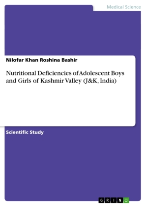 Nutritional Deficiencies of Adolescent Boys and Girls of Kashmir Valley (J&K, India) | Dodax.pl
