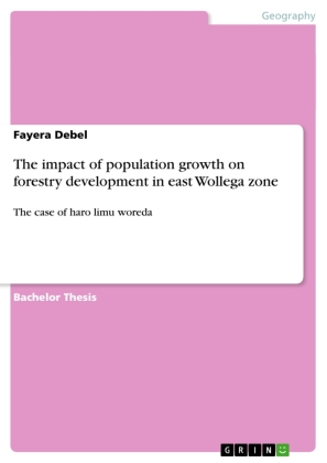 The impact of population growth on forestry development in east Wollega zone | Dodax.co.uk