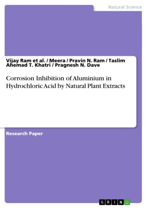 Corrosion Inhibition of Aluminium in Hydrochloric Acid by Natural Plant Extracts | Dodax.ch