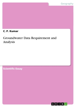 Groundwater Data Requirement and Analysis | Dodax.ch