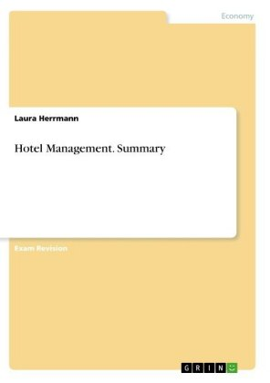Hotel Management. Summary | Dodax.ch