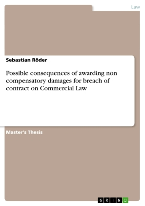 Possible consequences of awarding non compensatory damages for breach of contract on Commercial Law | Dodax.co.uk