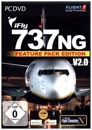 iFly 737 NG, V2.0, 1 DVD-ROM (Feature Pack Edition) | Dodax.ch