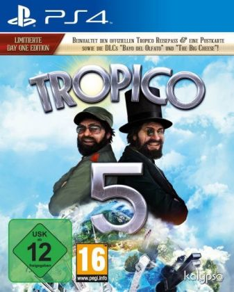 Tropico 5 (Day One Edition) - PS4 | Dodax.ch
