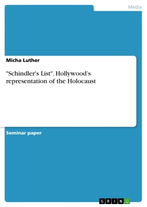 """""""Schindler's List"""". Hollywood's representation of the Holocaust   Dodax.ch"""