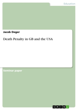 Death Penalty in GB and the USA   Dodax.pl