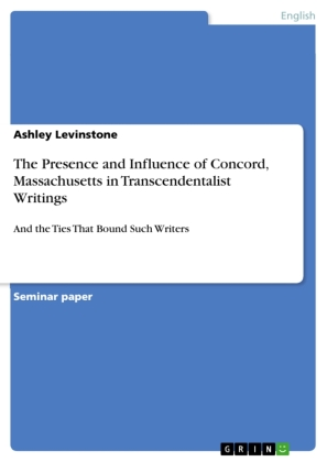 The Presence and Influence of Concord, Massachusetts in Transcendentalist Writings | Dodax.pl