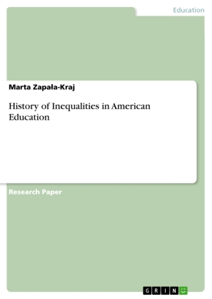 History of Inequalities in American Education   Dodax.ch