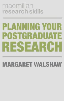 Planning Your Postgraduate Research | Dodax.ch
