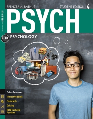 PSYCH4  (with Online, 1 term (6 months) Printed Access Card), m. Buch, m. Online-Zugang | Dodax.ch