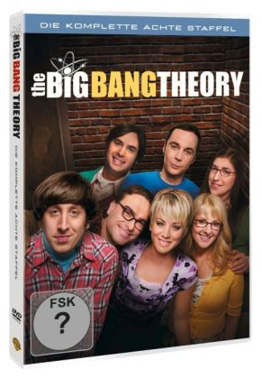 The Big Bang Theory. Staffel.8, 3 DVDs | Dodax.fr