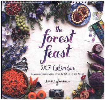 Forest Feast 2017 Wall Calendar | Dodax.at