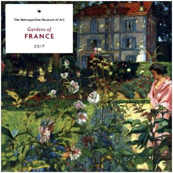 Gardens of France 2017 Wall Calendar | Dodax.ch