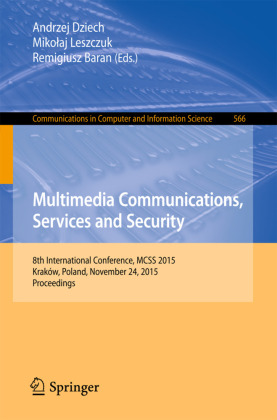Multimedia Communications, Services and Security | Dodax.ch