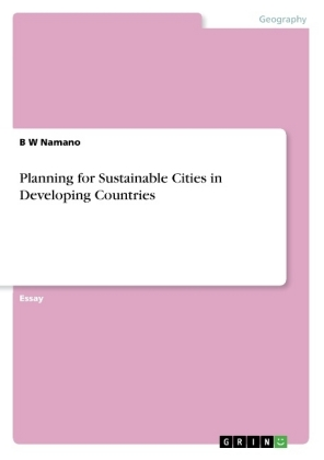 Planning for Sustainable Cities in Developing Countries | Dodax.pl