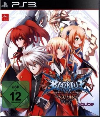 BlazBlue: Chrono Phantasma Extend German Edition - PS3 | Dodax.at