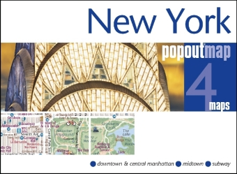 New York PopOut Map, 4 maps | Dodax.ch