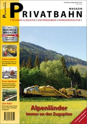 Privatbahn Magazin - Sonderdruck Alpenländer | Dodax.at