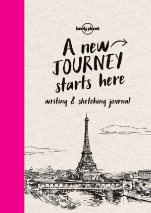 Lonely Planet Writing & Sketching Journal | Dodax.co.jp