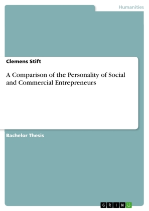 A Comparison of the Personality of Social and Commercial Entrepreneurs   Dodax.de