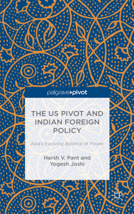 The US Pivot and Indian Foreign Policy | Dodax.pl