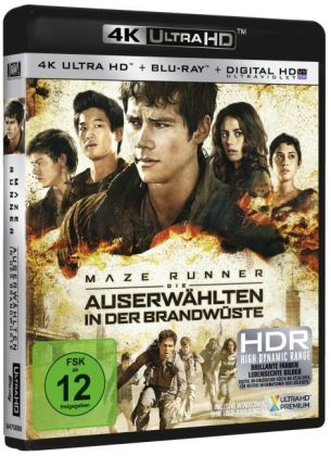 Maze Runner - Die Auserwählten in der Brandwüste 4K, 1 UHD-Blu-ray + 1 Blu-ray + Digital HD UV | Dodax.at