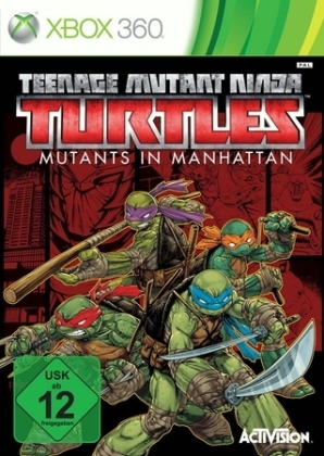 Teenage Mutant Ninja Turtles: Mutanten in Manhattan, 1 Xbox360-DVD | Dodax.nl
