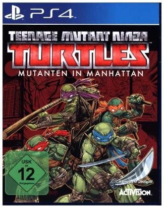 Teenage Mutant Ninja Turtles: Mutanten in Manhattan - PS4 | Dodax.at