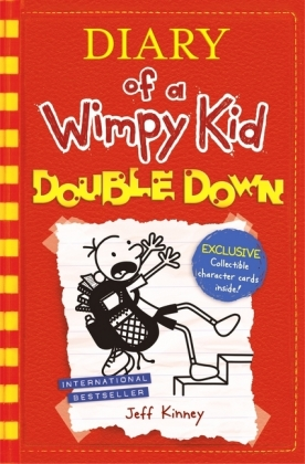 Diary of a Wimpy Kid - Double Down, w. 6 exclusive collectible character Cards | Dodax.com