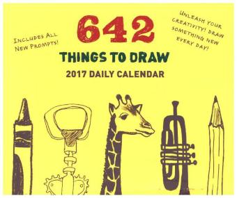 642 Things to Draw, Daily Calendar 2017 | Dodax.ch