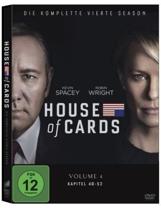 House of Cards, 4 DVDs + Digital UV. Season.4 | Dodax.de