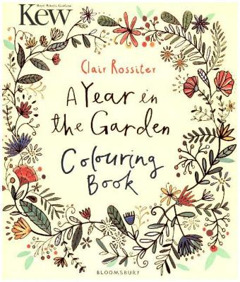 Kew A Year in the Garden Colouring Book | Dodax.de